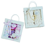 unique kids gifts, layette gift sets, baby gift basket, quality children gifts