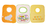 disposable baby bibs, embroidered toddler bibs, kids printed bibs